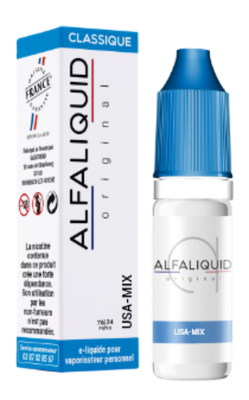 E-liquide Alfaliquid USA MIX, 10ml