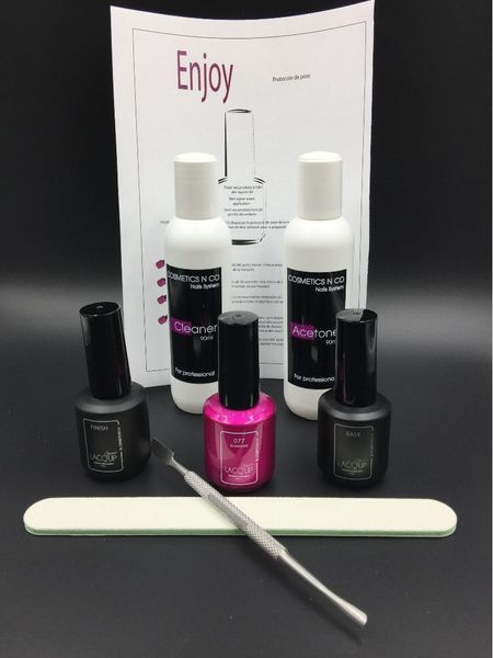 Kit Complet Vernis Semi Permanent