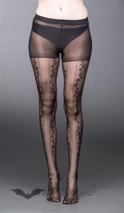 Chaussettes Queen of Darkness Gothique