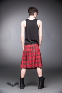 Kilt Queen of Darkness Gothique