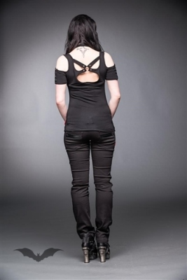 Pantalon Queen of Darkness Gothique