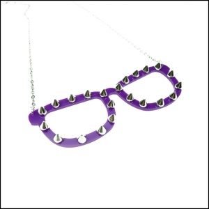 COLLIER CUPCAKE CULT SPIKE SHADES VIOLET
