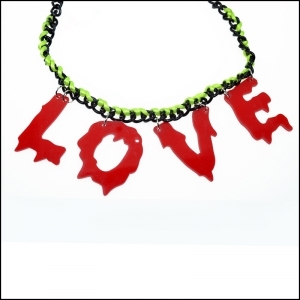 COLLIER CUPCAKE CULT LOVE ROUGE