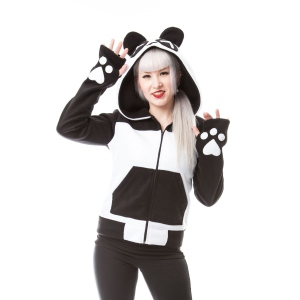 SWEAT SHIRT VESTE KILLER PANDA