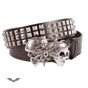 Ceinture Queen of Darkness Gothique