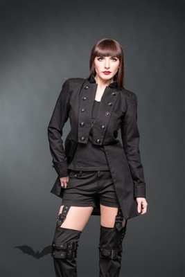 Manteau Queen of Darkness Gothique