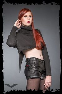 Pullover Queen of Darkness Gothique