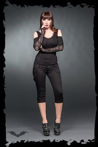 Leggings Queen of Darkness Gothique