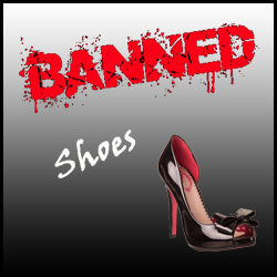 CHAUSSURES SHOES BANNED CLOTHING