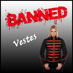 VESTES BANNED CLOTHING HOMME