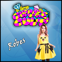 Robe dress CUPCAKE CULT rock emo kawaii pokemon pikachu lolita