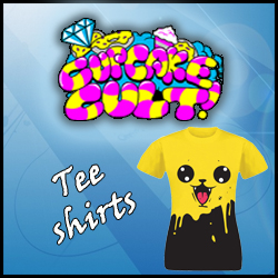 Tee shirt CUPCAKE CULT rock emo kawaii pokemon pikachu lolita