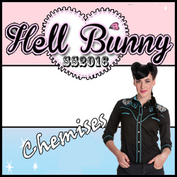 Chemise shirt Hell Bunny pin-up rockabilly retro vintage