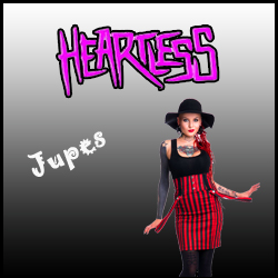 JUPES HEARTLESS CLOTHING rock punk gothique