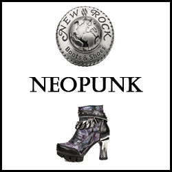 CHAUSSURES SHOES NEW ROCK NEO PUNK FEMME