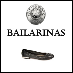 CHAUSSURES NEW ROCK BAILARINAS FEMME