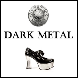 CHAUSSURES NEW ROCK DARK METAL