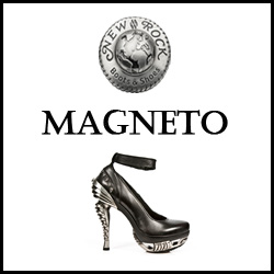 CHAUSSURES NEW ROCK MAGNETO FEMME