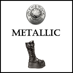 CHAUSSURES NEW ROCK METALLIC
