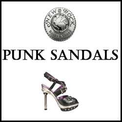 CHAUSSURES NEW ROCK PUNK SANDALS