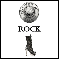 CHAUSSURES SHOES NEW ROCK ROCK FEMME