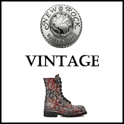 CHAUSSURES SHOES NEW ROCK VINTAGE FEMME