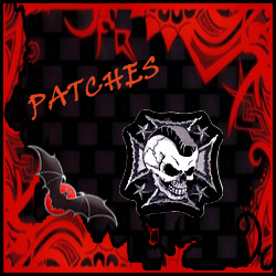 PATCHES QUEEN OF DARKNESS