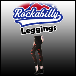 LEGGINGS RETRO ROCKABILLY