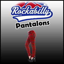 PANTALONS RETRO ROCKABILLY