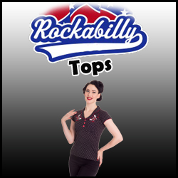 TOPS RETRO ROCKABILLY