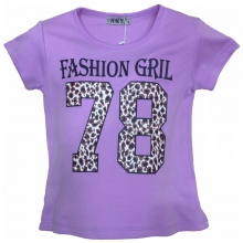 "T-shirt ""Fashion girl"" pour fille"