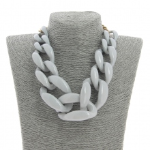 Collier chaine large ultra tendance