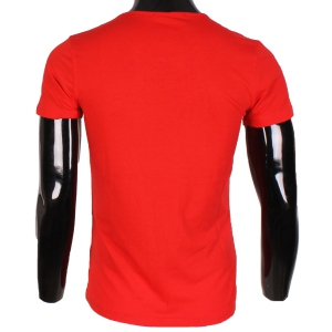 T-SHIRT HOMME SIMPLE ROUGE