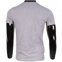 "T-shirt col rond imprimé ""BRAND EIGHTYNINE"" gris"