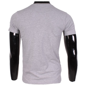 T-shirt homme à imprimé New York lips gris
