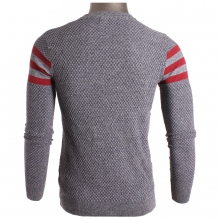 Pull homme encolure rond à rayures