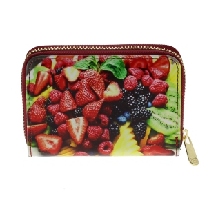 Assortiment porte monnaie imprimé fruit