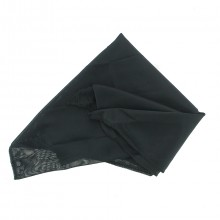 Foulard triangle en satin pour protection optimale cheveux