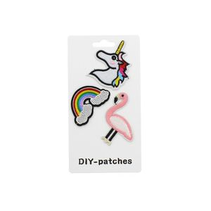 Patch thermocollant très amusant couleur assortie