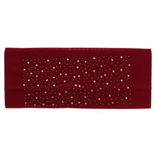 Assortiment bandeau large rehaussé de strass scintillant