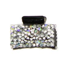 Assortiment pince crabe 3cm incrustée en strass brillant
