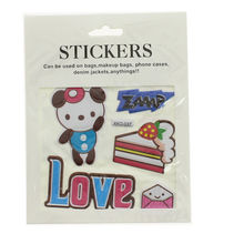 Assortiment stickers motif fantaisie multicolore