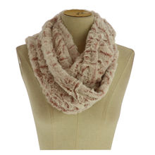 Assortiment snood imitation en fourrure 100% viscose