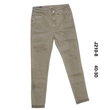 Pantalon en coupe skinny pour grande taille taupe