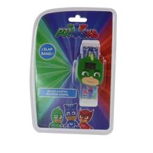 Montre digitale slap avec motif Pjmasks