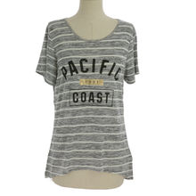 T-shirt long manches courtes en rayures PACIFIC COAST