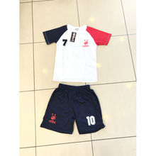 Ensemble maillot de football Equipe de France