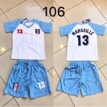 Ensemble maillot de football Equipe de Marseille