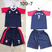 Ensemble maillot de football Equipe de Paris n°7