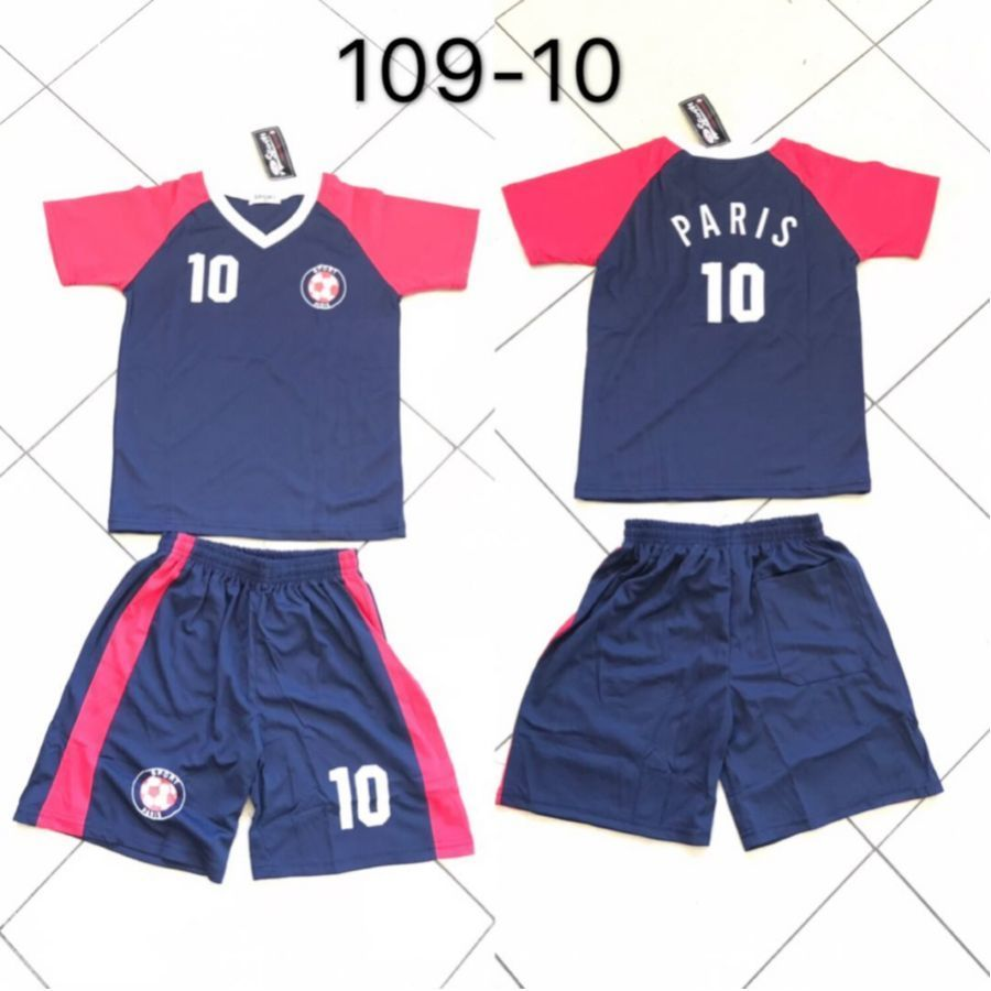 Paris EnsemblesRefXh 7 Football Ensemble 10 Maillot Vendu Par 109 De Lot Equipe N°10 ZOPuikX